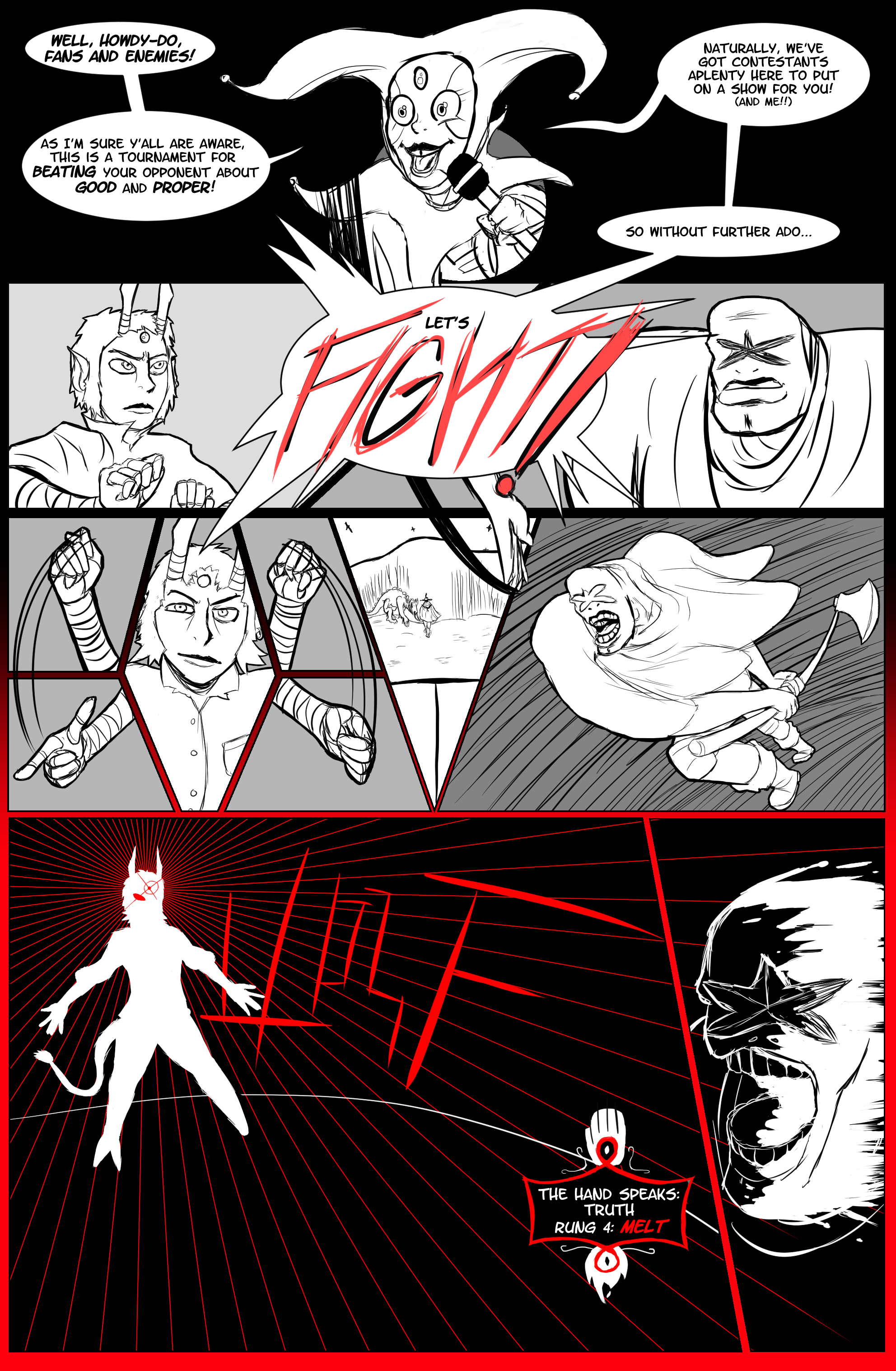Ring of Worms: Round 1 (Page 2)